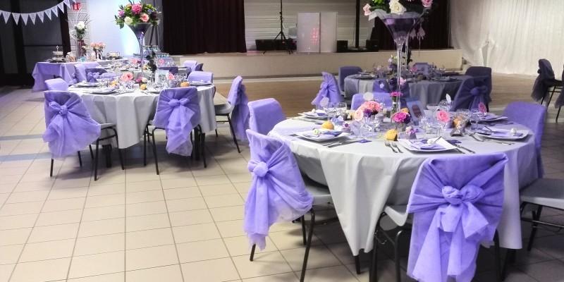 Salle du mariage avant la grande fête