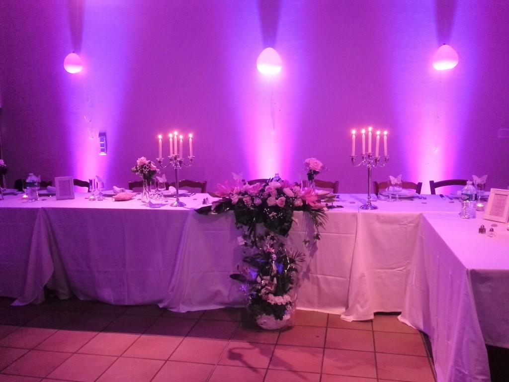 Domaine des Chaulnes Tables des mariés