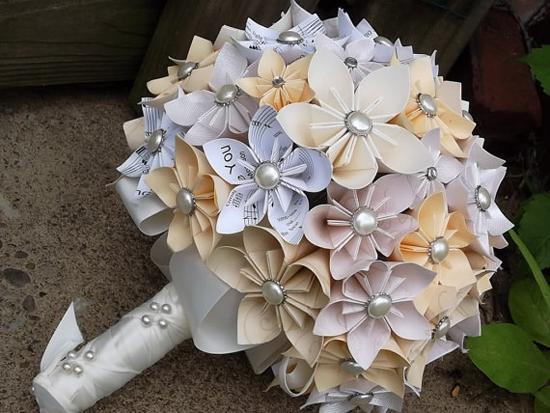 Papier Origami Mariage Fleur Paper Origami Flower Wedding